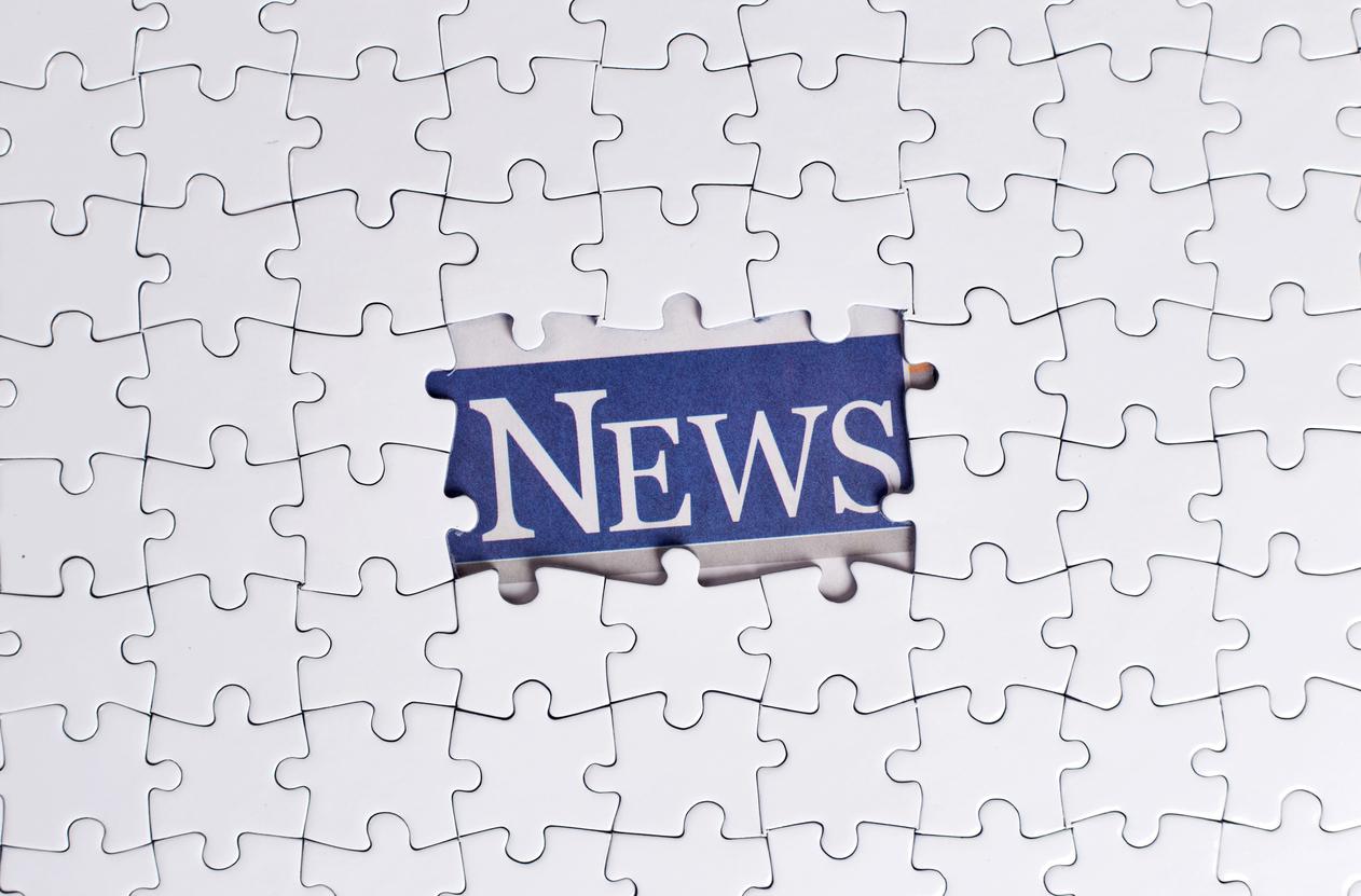 News Puzzle Concept